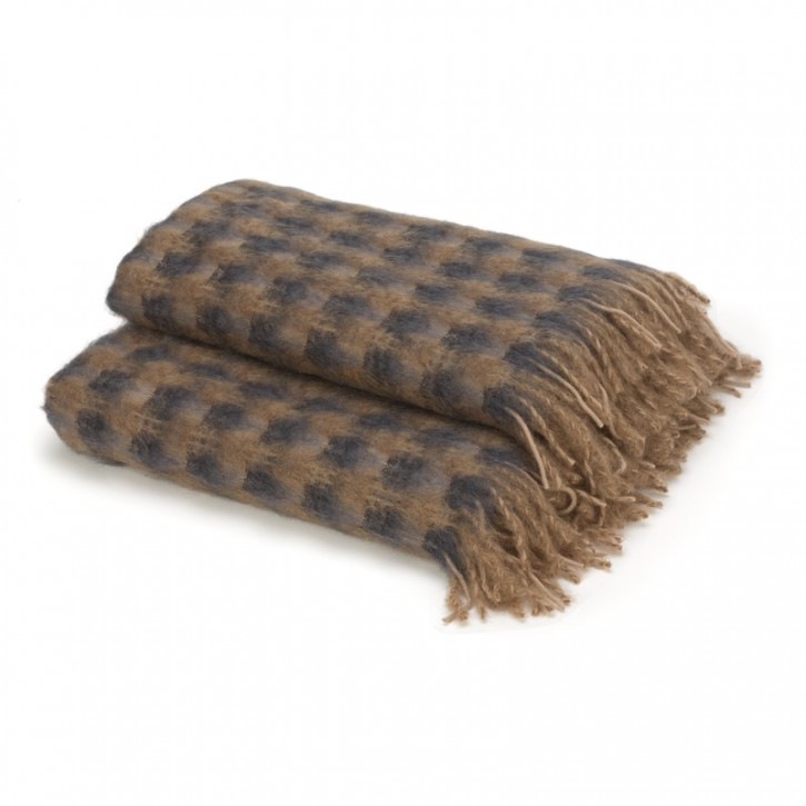 Bracciano Mohair throw