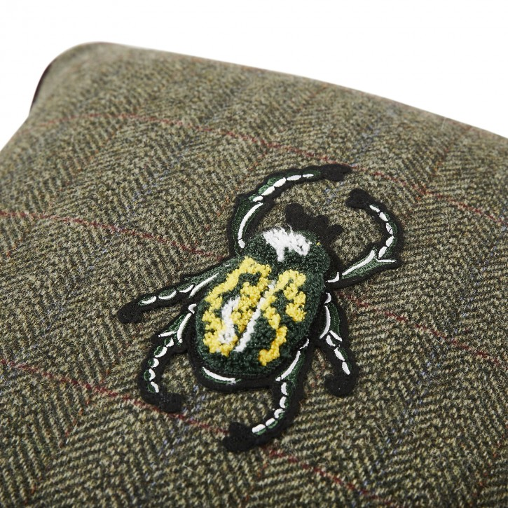 "Shamrock Green Beetle 17,7""x17,7"""