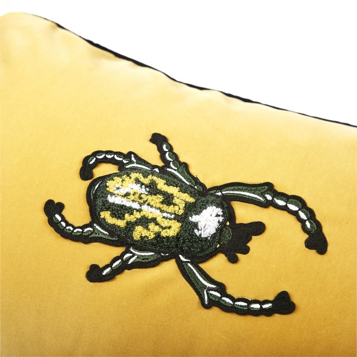 Cheerful Yellow Beetle 45x30