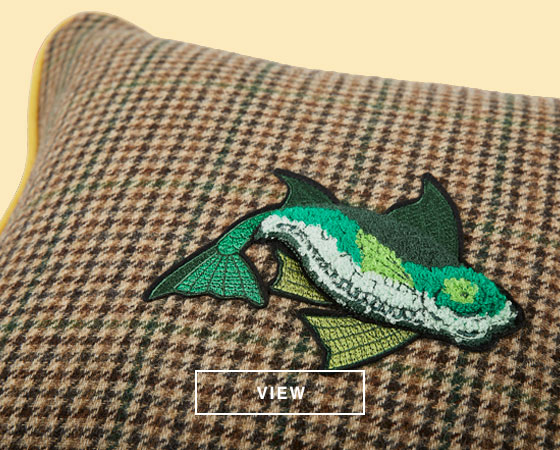 Tweed Hacking Cushions